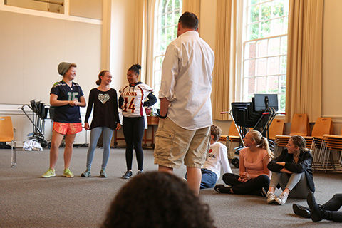 Students learn theater (and life) lessons at drama retreat