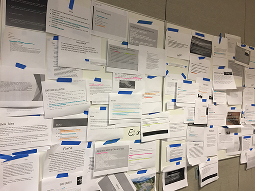 The GSL Wall of Research