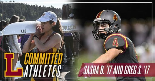 November 2016 Committed Athletes