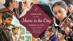 Jan. 18: Music in the City event at Benroya Hall