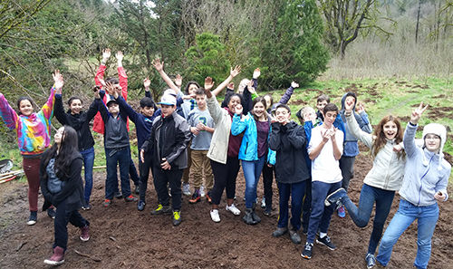 Working together: Pacific Northwest GSL partner communities visit the Middle School