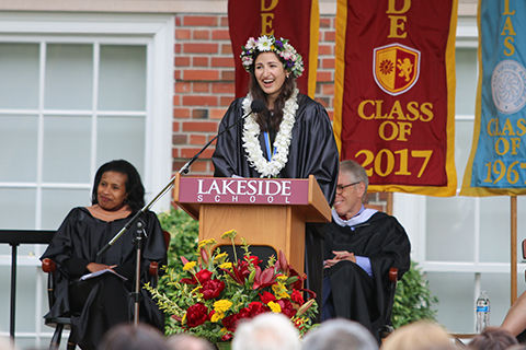 Commencement 2017: Lakeside will continue to come back to us