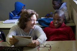 Lakeside faculty, administrators work with students and faculty in South Africa