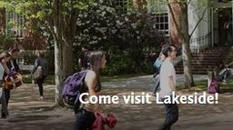 Sunday, Oct. 28: Lakeside Upper School Admissions Open House