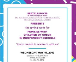 May 15 People of Color in Independent Schools event: Building your parent toolkit