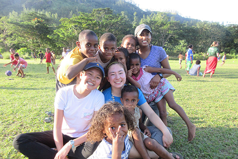 GSL Fiji: First day of service