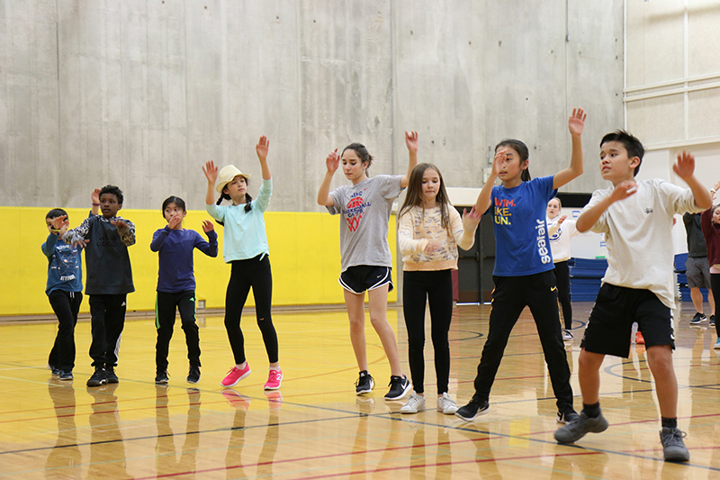 Middle Schoolers exhilarated and challenged by dance residency with DancePl3y